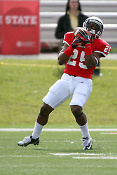 20 October 2012:  Marshaun Coprich during an NCAA Missouri Valley Football Conference football game between the Missouri State Bears and the Illinois State Redbirds at Hancock Stadium in Normal IL