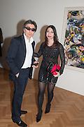 HOSSEIN QIZILBASH; ASHRAF  QIZILBASH, Panta Rhei. An exhibition of work by Keith Tyson. The Pace Gallery. Burlington Gdns. 6 February 2013.
