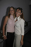 Lucy Pollock and Lise Hansinger, Cartier Polo Players Party, The Collection, 264 Brompton Road, London, SW3, 25 July 2006. ONE TIME USE ONLY - DO NOT ARCHIVE  © Copyright Photograph by Dafydd Jones 66 Stockwell Park Rd. London SW9 0DA Tel 020 7733 0108 www.dafjones.com