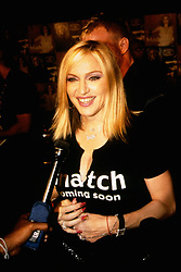 Madonna, who launches her new album 'Music' today