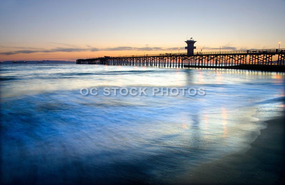 Seal Beach Pier at Dusk