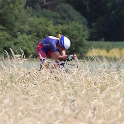 21-06-2017: Wielrennen: NK Tijdrijden: Montferlands-Heerenberg (NED) wielrennen  <br />Tijdrit Junior Vrouwen  <br />Eva Jonkers (Staphorst) werd vijfde