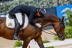 Donckers Karin, BEL, Fletcha van't Verahof<br /> World Equestrian Games - Tryon 2018<br /> © Hippo Foto - Sharon Vandeput<br /> 15/09/2018