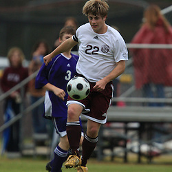 (shot on January 24, 2009) Bruce O'Krepki of St. Thomas Aquinas High School in action during a soccer game against Independence in Hammond, LA on January 24, 2009. O'Krepki a 18-year-old graduate from St. Thomas high school was reported missing and beleived to be overboard from the Carnival Fantasy cruise liner late Sunday night, about 150 miles southwest of Tampa according to the Coast Guard and a search of the waters of the southern Gulf of Mexico is on going.