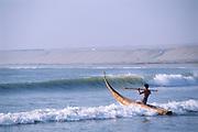 Cabillitos de Totora Reed Boats<br />Huanchaco, PERU