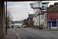 UK ENGLAND WALLSEND 24APR15 - View of Wallsend, birthplace of famous musician Sting.<br /> <br /> jre/Photo by Jiri Rezac<br /> <br /> &copy; Jiri Rezac 2015