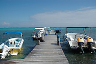 Boats at Dock, belize