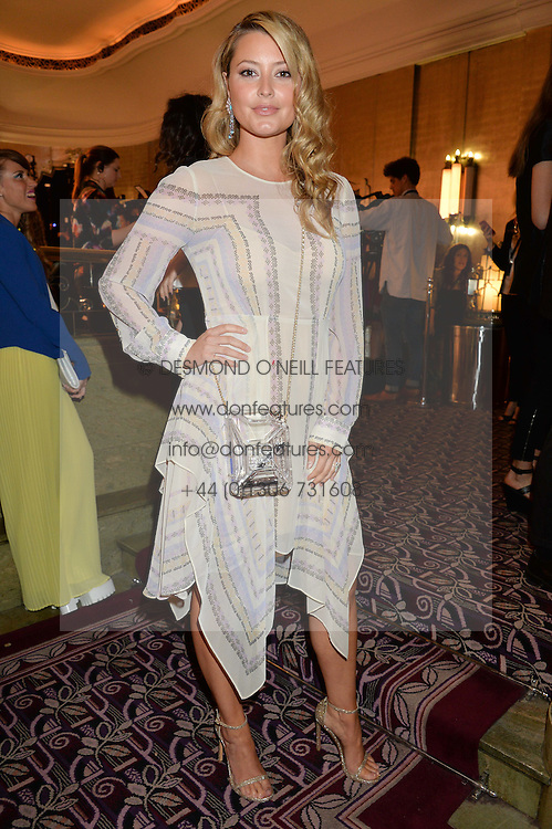 HOLLY CANDY at the WGSN Global Fashion Awards 2015 held at The Park Lane Hotel, Piccadilly, London on 14th May 2015.