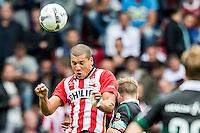 EINDHOVEN - PSV - FC Groningen , Voetbal , Seizoen 2015/2016 , Eredivisie , Philips stadion , 16-08-2015 , Kopbal van PSV speler Jeffrey Bruma