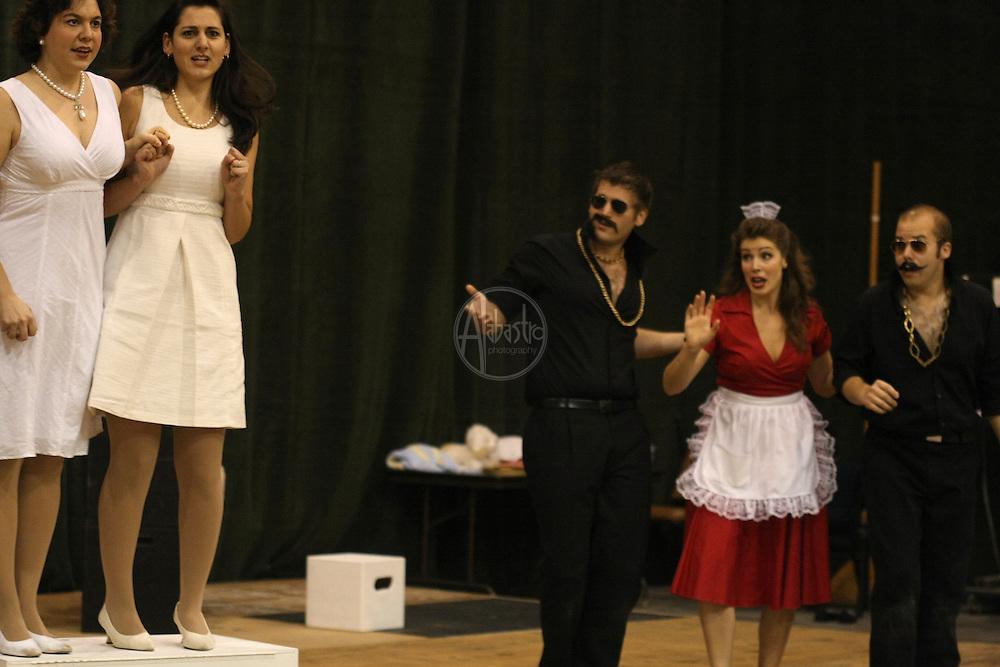 Vira Slywotzky, Maya Lahyani, Michael Krzankowski, Sarah Heltzel and Alex Mansoori in Cosi fan tutte