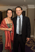 SIMON AND CLAIRE FUGE, An evening of entertainment at St James Court in support of the redevelopment of St Fagans National History Museum. In the spirit of the court of Llywelyn the Great . St. James Court Hotel. London. 17 September 2015<br />  <br /> Noson o adloniant yn St James Court i gefnogi ail-ddatblygiad Sain Ffagan Amgueddfa Werin Cymru