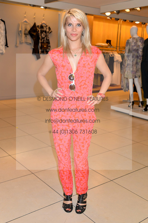 PIPS TAYLOR at the French Connection #NeverMissATrick Launch Party held at French Connection, 396 Oxford Street, London on 23rd July 2014.