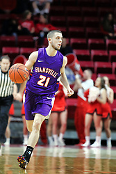 NORMAL, IL - January 05: Shea Feehan during a college basketball game between the ISU Redbirds and the University of Evansville Purple Aces on January 05 2019 at Redbird Arena in Normal, IL. (Photo by Alan Look)