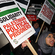 Palestinian and UK National condemns President Trump's Hands off Jerusalem!, London, UK
