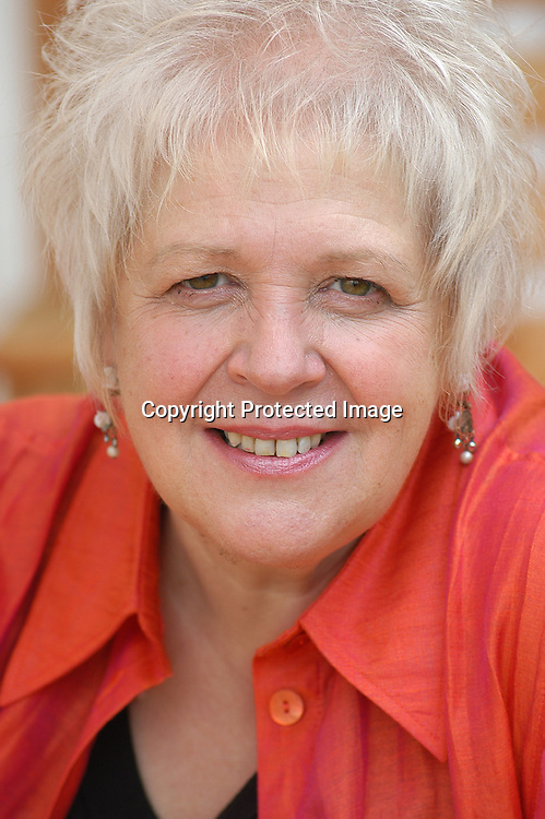 18 August 2004 - Edinburgh, UK - Scottish writer and poet Liz Lochhead  at the Edinburgh International Book festival<br /> <br /> Pascal Saez / Writer Pictures