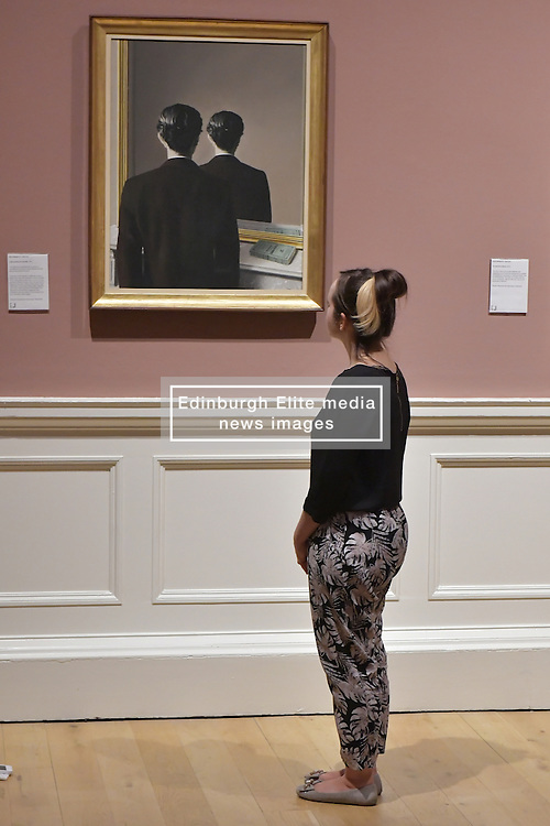 Not to be Reproduced, René Magritte, Scottish National Gallery of Modern Art  (Modern One) Surreal Encounters Collection, Edinburgh, 2nd June 2016, <br /> (c) Brian Anderson   Edinburgh Elite media