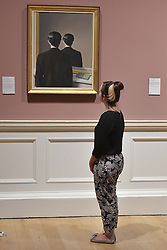 Not to be Reproduced, Ren&eacute; Magritte, Scottish National Gallery of Modern Art  (Modern One) Surreal Encounters Collection, Edinburgh, 2nd June 2016, <br /> (c) Brian Anderson   Edinburgh Elite media