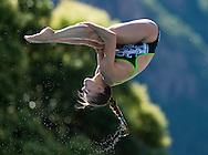 CAGNOTTO Tania ITA<br /> Bolzano, Italy <br /> 22nd FINA Diving Grand Prix 2016 Trofeo Unipol<br /> Diving<br /> Women's 3m springboard preliminaries <br /> Day 02 16-07-2016<br /> Photo Giorgio Perottino/Deepbluemedia/Insidefoto
