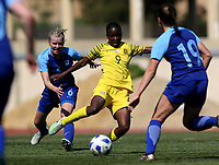 International Women's Friendly Matchs 2019 / <br /> Womens's Cyprus Cup Tournament 2019 - <br /> Finland v South Africa 3-0 ( Tasos Marko Stadium - Paralimni,Cyprus ) - <br /> Amanda Mthandi of South Africa (Middle)