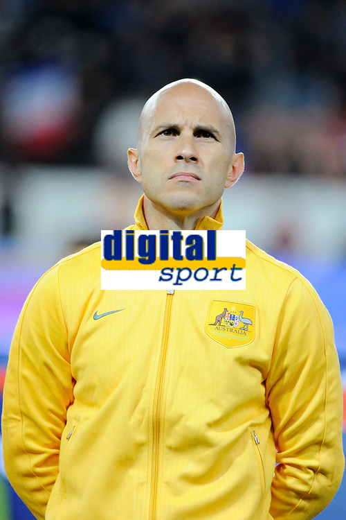 Australia's Mark Bresciano before the International football Friendly Game 2013/2014 between France and Australia on October 11, 2013 in Paris, France. Photo Jean Marie Hervio / Regamedia/ DPPI