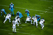 October 17, 2017: Carolina Panthers vs the Philadelphia Eagles. Carson Wentz, Eagles QB