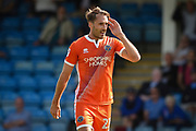 Shrewsbury Town midfielder Alex Rodman (23) after scoring a goal (0-2) during the EFL Sky Bet League 1 match between Gilling ham and Shrewsbury Town at the MEMS Priestfield Stadium, Gillingham, England on 2 September 2017. Photo by Martin Cole.