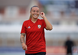 NEWPORT, WALES - Monday, September 2, 2019: Wales' Natasha Harding during a training session at Rodney Parade ahead of the UEFA Women Euro 2021 Qualifying Group C match against Northern Ireland. (Pic by David Rawcliffe/Propaganda)