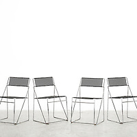Designer metal chairs