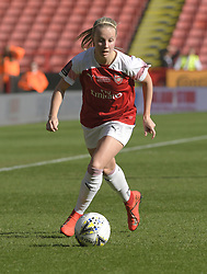 February 23, 2019 - Sheffield, England, United Kingdom - Arsenal      during the  FA Women's Continental League Cup Final  between Arsenal and Manchester City Women at the Bramall Lane Football Ground, Sheffield United FC Sheffield, Saturday 23rd February. (Credit Image: © Action Foto Sport/NurPhoto via ZUMA Press)
