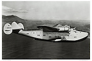 Pan Am 314 Marin, air-to-air