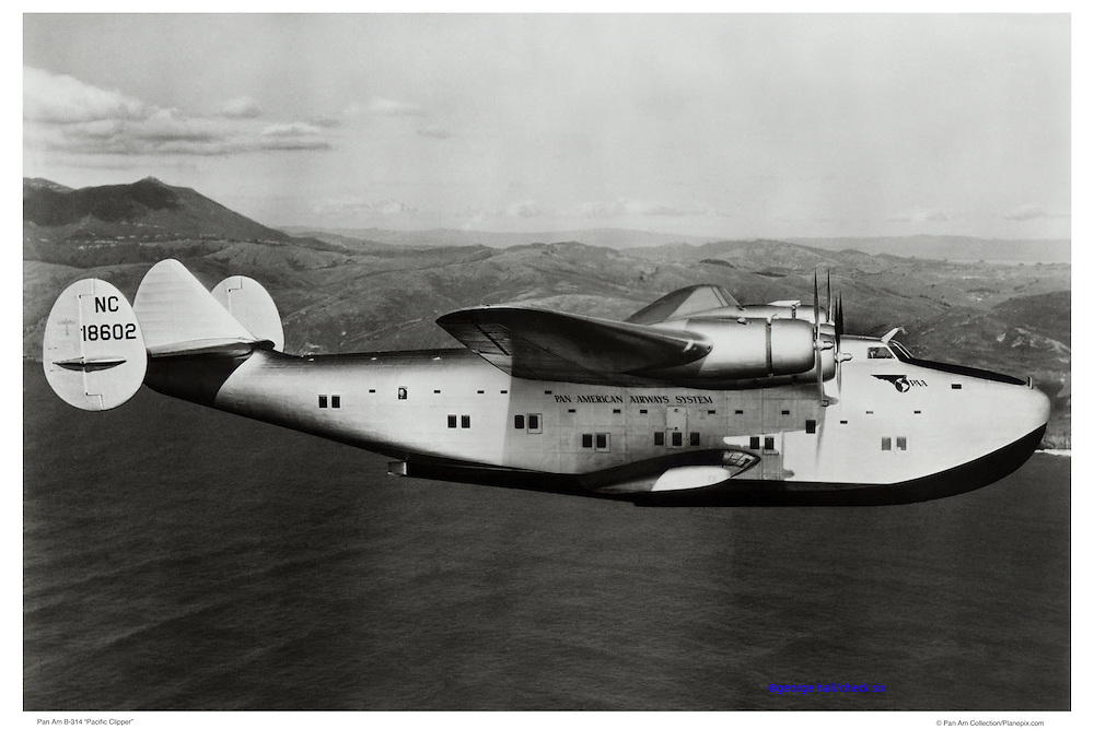 Pan Am 314 Marin, air-to-air