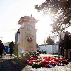 Memorial Stadium Remembrance Ceremony