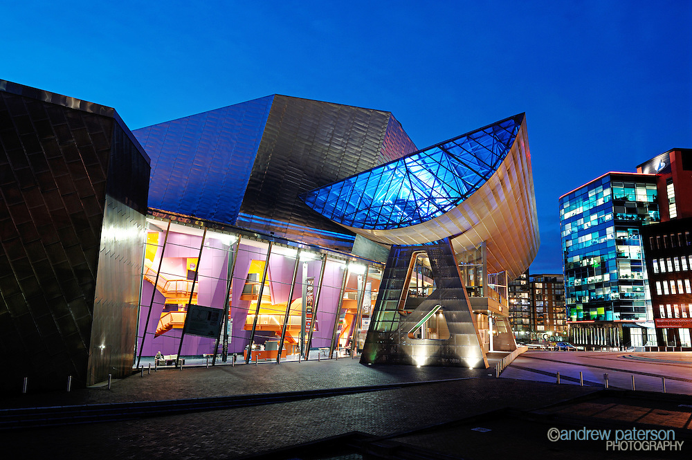 The Lowry theatre and art complex in Salford