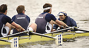 Chiswick, LONDON, ENGLAND, 25.03.2006, Crew No 86, Cox LRC. 2006 Head of the River Race. Mortlake to Putney. © Peter Spurrier/Intersport-images.com. 2006 Men's Head of the River Race, Rowing Course: River Thames, Championship course, Putney to Mortlake 4.25 Miles 2006 Men's Head of the River Race, Rowing Course: River Thames, Championship course, Putney to Mortlake 4.25 Miles