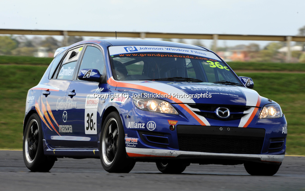 Jake Camilleri.Mazda 3 MPS.Motorsport/2008 Shannons Nationals.Australian Manufacturers Championship .Sandown International Raceway, Melbourne, Victoria.29th November 2008.(C) Joel Strickland Photographics.