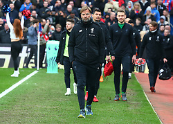 March 31, 2018 - London, Greater London, United Kingdom - Liverpool manager Jurgen Klopp .during the Premiership League  match between Crystal Palace and Liverpool at Wembley, London, England on 31 March 2018. (Credit Image: © Kieran Galvin/NurPhoto via ZUMA Press)
