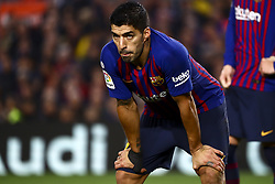 February 6, 2019 - Barcelona, Spain - FC Barcelona's forward Luis Suarez  during semifinal of spanish King Cup frist leg match between FC Barcelona and Real Madrid at  Nou Camp Stadium on February  6, 2019. (Credit Image: © Jose Miguel Fernandez/NurPhoto via ZUMA Press)
