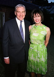 MR & MRS CONRAD BLACK owner of the Telegraph <br /> newspapers, at a dinner in London on 22nd May 2000.OEK 117