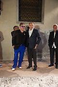 SIR ELTON JOHN; VICTOR PINCHUK, preview of Pinchuk Foundation's Future Generation Art Prize,     Palazzo Contarini PolignacVenice. Venice Bienalle. Thursday 30 May).