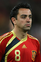 11.03.2010, Madrid, Spanien, ESP, Nationalmannschaft Spanien, Portraits im Bild Xavi Hernandez, Nationalspieler Spanien, Bild aufgenommen am 28.03.2009, EXPA Pictures © 2010, PhotoCredit: EXPA/ Alterphotos/ Alvaro Hernandez). / for Slovenia SPORTIDA PHOTO AGENCY.