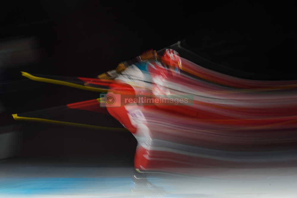 February 11, 2018 - Pyeongchang, Gangwon, South Korea - Brendan Green ofCanada at Mens 10 kilometre sprint Biathlon at olympics at Alpensia biathlon stadium, Pyeongchang, South Korea on February 11, 2018. (Credit Image: © Ulrik Pedersen/NurPhoto via ZUMA Press)