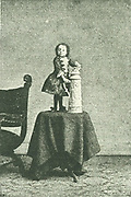 Princess Pauline: Pauline Munsters (1876-1895)  Dutch dwarf claimed to be the smallest woman ever to have lived.  Her post mortem showed her to be 61.2cm (24 inches) tall.  Halftone from a photograph.