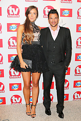 © Licensed to London News Pictures. 09/09/2013, UK. Emily MacDonagh; Peter Andre, TV Choice Awards, The Dorchester Hotel, London UK, 09 September 2013 Photo credit : Richard Goldschmidt/Piqtured/LNP