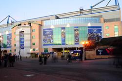 Stamford Bridge - Photo mandatory by-line: Dougie Allward/JMP - Tel: Mobile: 07966 386802 09/01/2013 - SPORT - FOOTBALL - Stamford Bridge - London  -  Chelsea v Swansea City - Capital One Cup Semi-Final First Leg.