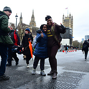 Shola Mos-Shogbamimu join March4Women 2020, on 8 March 2020, London, UK.