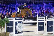 Pieter Devos - Claire Z<br /> Jumping Indoor Maastricht 2016<br /> © DigiShots