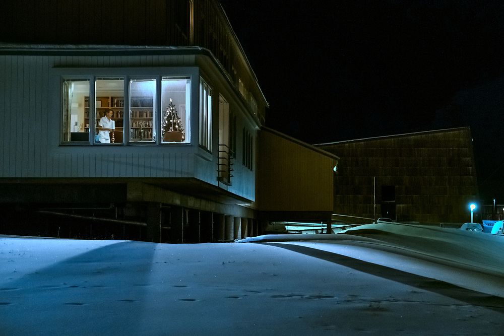 While the majority of places in Longyearbyen are closed on Christmas morning, the hospital doors always stay open. There, most basic health care needs can be taken care of, except for ... death. It's illegal to die in Svalbard and the reason is simple - bodies don't decompose because of the permafrost.