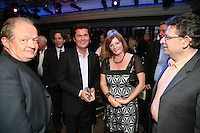 Chris Morrison CMO Management, Simon Fuller, Terri Hall and Lucian Grainge Chairman and CEO of UMI