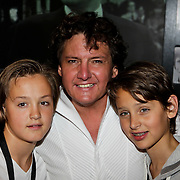 NLD/Amsterdam/20100522 - Concert Toppers 2010, Rene Froger en zonen Maxim en Didier