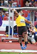 Chuk Enekwechi aka Chukwuebuka Enekwechi (NGR) places sixth in the shot put at 68-3¾ (20.82m)during the IAAF Continental Cup 2018 at Mestkey Stadion in Ostrava, Czech Republic, Saturday, Sept. 8, 2018. (Jiro Mochizuki/Image of Sport)